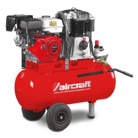Компресор с бензинов двигател AIRBAU 652/100 B PRO Aircraft /6.6 kW, 480 л/мин., 14 bar, 100 л/