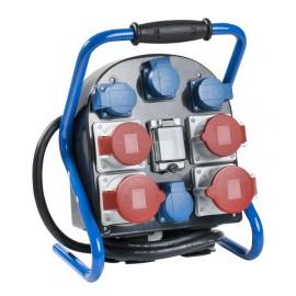 Разпределително табло с 4 монофазни и 4 трифазни контакта, IP44 AS-Schwabe GmbH 60904