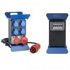 Разпределително табло с 4 монофазни и 2 трифазни контакта, IP44 AS-Schwabe GmbH 60506