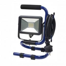 Прожектор LED светодиоден с кабел и стойка 10W, 850lm, 4000K, IP65 AS-Schwabe GmbH 46410