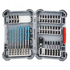 Комплект накрайници и свредла с 6-стен опашка 35 части Impact Control Multi Construction Bosch 2 608 577 147