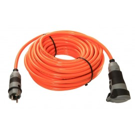Удължител с кабел 10 м, 3х2,5 мм, H07BQ-F, оранжев AS-Schwabe GmbH 62262