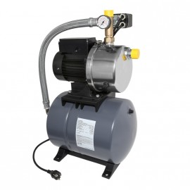 """Хидрофор JPB6 60L Grundfos /1400W, Q-5.5 m3/h, H-50 m, 1""""-1"""", 60 л/ 4661BQBB"""
