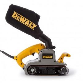Шлайф DeWALT лентов с плавно регулиране 1010 W, 533x76 мм, 270-440 м/мин, DWP352VS