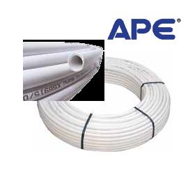 Многослойна тръба ф20 х 2 с алуминиева вложка Pex/Al/PEx APE