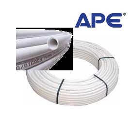 Многослойна тръба ф32 х 3 с алуминиева вложка Pex/Al/PEx APE
