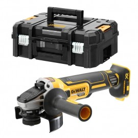 Ъглошлайф акумулаторен безчетков без батерия и зарядно ф 125 мм, 18 V, 9000 об./мин DeWALT DCG405NT