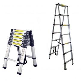 Телескопична А-образна стълба 2.0 метра CIMEX DBL TELELADDER2
