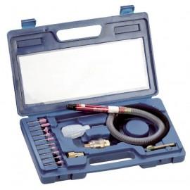Шлайф прав пневматичен комплект 3 мм, 56 000 об./мин, 60 л/мин, 6 bar Fervi 0641