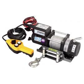 Лебедка електрическа 2000 кг, 14.5 м, 2.4 kW, 12 V Fervi 0630/2200