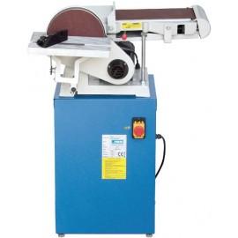 Fervi 0662, Шлайф комбиниран с шмиргел 750 W, 1400 об./мин, ф 230 мм, 1219х152мм