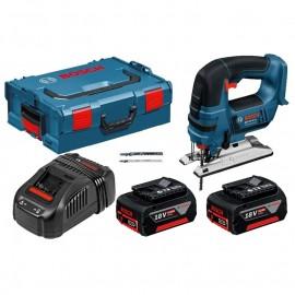 Прободен трион /Зеге/ акумулаторен Bosch GST 18 V-LI B Professional /18 V, 5 Ah, 23 мм/ 0 601 5A6 103