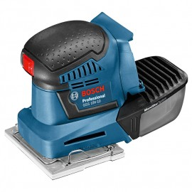 Виброшлайф Bosch акумулаторен без батерия и зарядно 18 V, 101х113 мм, 11 000-22 000 хода/мин, GSS 18V-10-0 601 9D0 200