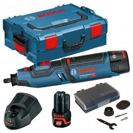 Шлайф прав акумулаторен Bosch GRO 12V-35 Professional /12 V, 2 Ah, Ø 0.8-3.2 мм, 35000 об./мин./ 0 601 9C5 001