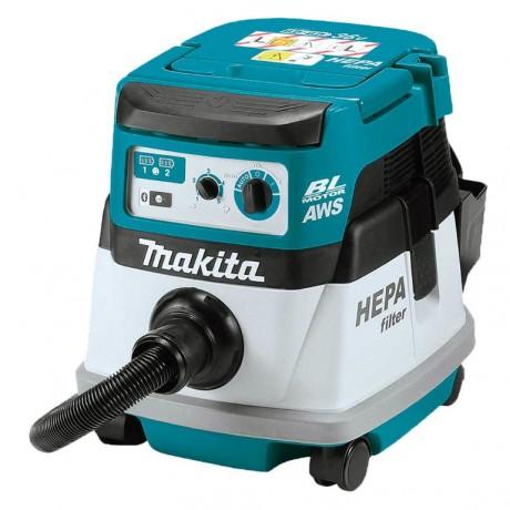 Прахосмукачка акумулаторна Makita DVC864LZ /36 V, 2100 л/мин/