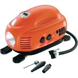 Компресор автомобилен Black&Decker ASI200 /12 V, 8,27 bar/