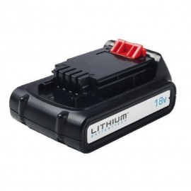 Батерия акумулаторна Li-Ion 18V, 1.5Ah Black&Decker BL1518