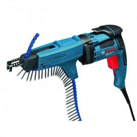 """Винтоверт електрически Bosch GSR 6-45 TE + MA 55 Professional /701 W, 1/4"""", 20 Nm/ 0 601 445 101"""