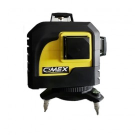 Лазерен нивелир линеен 3D CIMEX SL3D /20м, ± 2,2мм/10м/