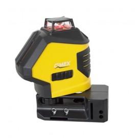 Лазерен нивелир с 5 лъча, самонивелиращ CIMEX SL4H1V /20м, ± 3мм/10м/