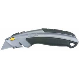 Нож макетен метален Stanley /180 mm/
