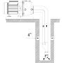 """Помпа самозасмукваща дълбочинна Speroni APM 200 /2000W, Q-1.2м3/ч, 1""""1/4-1"""", Н-53м/"""
