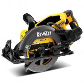 DeWALT DCS577N, Циркуляр ръчен акумулаторен без батерия и зарядно ф 190 мм, 54 V, 5800 об./мин
