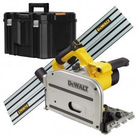 DeWALT DWS520KR, Циркуляр ръчен електрически 1300 W, 4000 об./мин, ф 165 мм