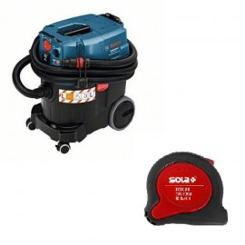 Bosch GAS 35 L AFC, Прахосмукачка електрическа за сухо и мокро почистване 1380 W, 4440 л/мин, 35 л