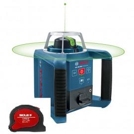 Нивелир лазерен ротационен Bosch GRL 300 HVG Professional /100 м-300 м/