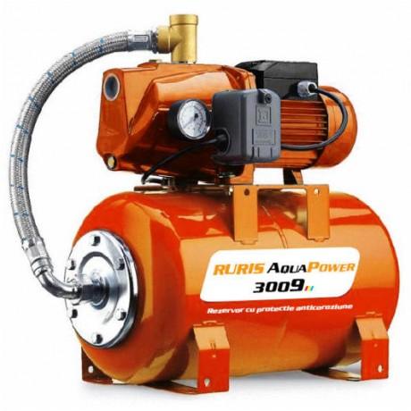 Хидрофор Aqua Power 3009, 24L, 1500W RURIS