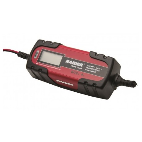 Зарядно за акумулатор RAIDER RD-BC13 /6/12V, 4A/