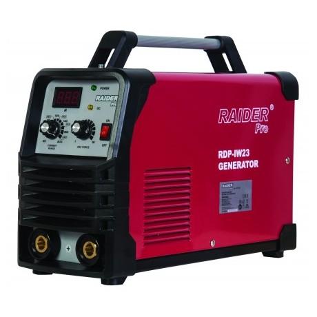Инверторен заваръчен апарат за захранване с генератор RAIDER RDP-IW23 /200А/