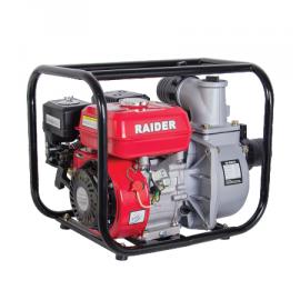 """Помпа водна бензинова RAIDER RD-GWP04 /4.9kW, 196см3, 933 l/min, Н30м, 3""""/"""