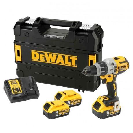 DeWALT DCD996, Бормашина винтоверт акумулаторна 18.0 V, 5.0 Ah, 95 Nm