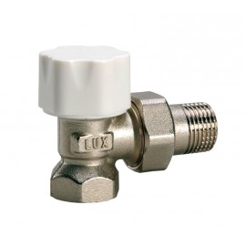 Винтил радиаторен, ъглов, аксиален за терморегулатор 24/19-5502419 LUXOR