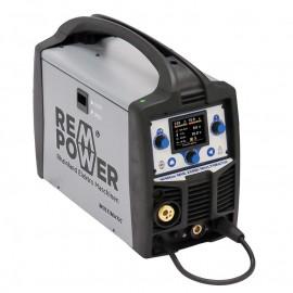 REM Power WMEm 220Di, Заваръчен апарат MIG/MAG инверторен комбиниран MMA и MIG 200 A, 230 V, 0.6-1 мм, ролка 200 мм/5
