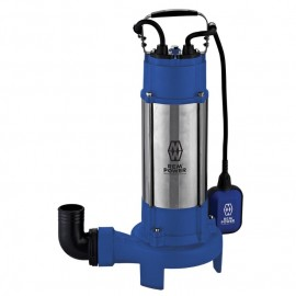 "REM Power SPG 18502 CDR, Помпа потопяема дренажна за фекални и отпадни води, с режещ инструмент 18 м3/ч, 12 м, 2"""
