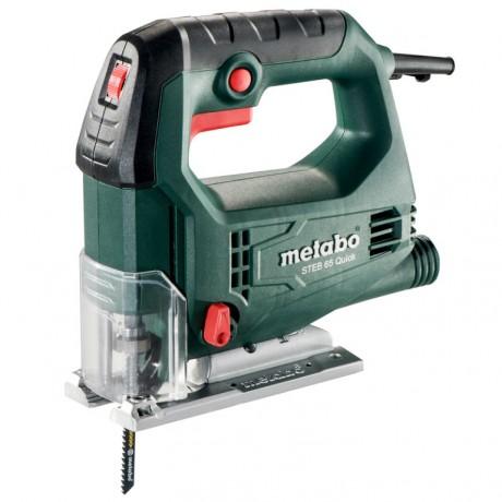 Metabo STEB 65 Quick, Трион прободен (зеге) електрически с реглаж на оборотите 450 W, 18 мм, 600-3000 об./мин, 65 мм в дърво