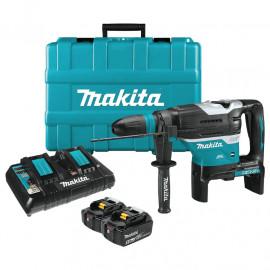 Перфоратор Makita акумулаторен SDS-max, 36 V, 5 Ah, 8 J, DHR400T2UN