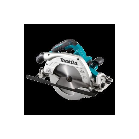 Циркуляр ръчен акумулаторен без батерия и зарядно ф 235 мм, 36 V, 4500 об./мин., 18+18 V Makita DHS900ZU