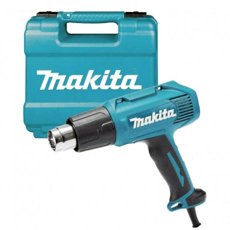 Пистолет за горещ въздух 1600 W, 350/500 °С, 350/500 л/мин Makita HG5030K