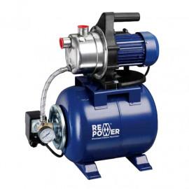 """Уредба хидрофорна с цилиндричен съд 20 л, 3.4 м3/ч, 42 м, 1"""" - 1"""" REM Power WPEm 3402/20 R Inox"""