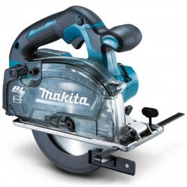 Циркуляр Makita ръчен акумулаторен за метал без батерия и зарядно ф 150 мм, 18 V, 4200 об./мин, DCS553Z