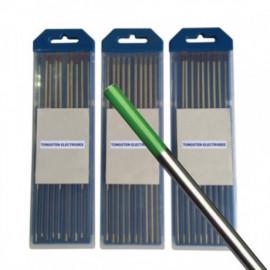 Волфрамов електрод ф4.0 мм зелен