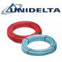 Петслойна тръба с алуминиева вложка PexB-AL-PexB Ф20 Х 2.0 х с изолация UNIDELTA