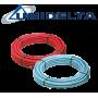Петслойна тръба с алуминиева вложка PexB-AL-PexB Ф26 Х 3.0 х с изолация UNIDELTA