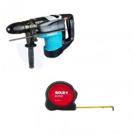 Перфоратор Makita електрически SDS-max, 1100 W, 8.3 J, HR4003C