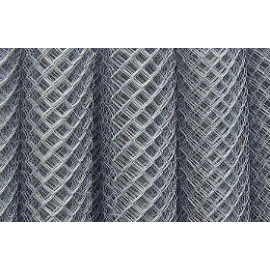 Мрежа оградна плетена, поцинкована 40мм х 40мм х 2.0мм - 1.5м