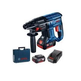 Перфоратор Bosch акумулаторен безчетков SDS-plus, 18 V, 6 Ah, 2.6 J, GBH 18V-26 0 611 909 003